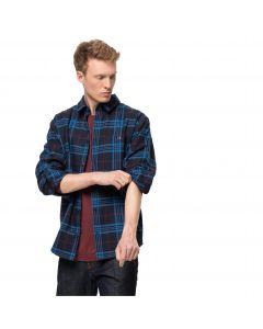 Męska koszula flanelowa CABIN VIEW SHIRT M Night Blue Checks