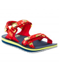 Sandały damskie OUTFRESH DELUXE SANDAL W tulip red all over