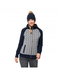 Damski Polar NORTHWIND JACKET W midnight blue