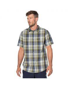 Koszulka HOT CHILI SHIRT MEN burnt olive checks