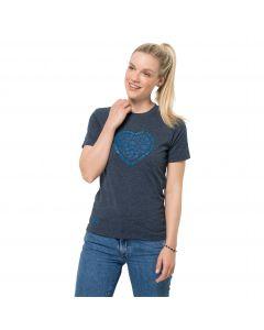 Damska koszulka z krótkim rękawem SEA GROUND T W Night Blue