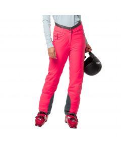 Spodnie narciarskie damskie SNOW SUMMIT PANTS W flashing pink