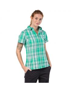 Koszulka MARONI RIVER SHIRT WOMEN pale mint checks