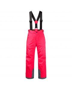 Spodnie narciarskie dziecięce GREAT SNOW PANTS KIDS Flashing Pink