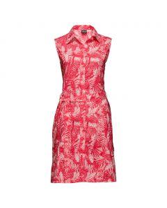 Sukienka SONORA JUNGLE DRESS hot coral all over