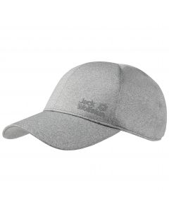 Czapka z daszkiem SOLUTION CAP light grey