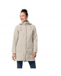Płaszcz softshell damski WINDY VALLEY COAT W dusty grey