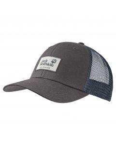 Czapka z daszkiem HERITAGE CAP dark steel