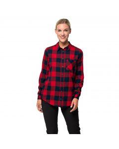 Damska koszula HOLMSTAD SHIRT ruby red check