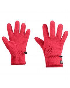 Rękawiczki dla dzieci BAKSMALLA FLEECE GLOVE KIDS Tulip Red