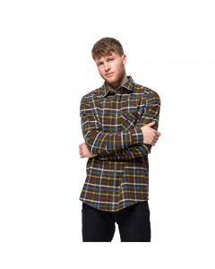Męska koszula FRASER ISLAND SHIRT Bonsai Green Checks