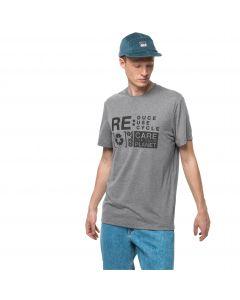 T-shirt męski NATURE RELIEF T M Alloy