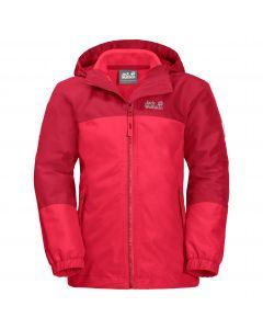 Dziewczęca kurtka 3w1 G ICELAND 3IN1 JKT Tulip Red