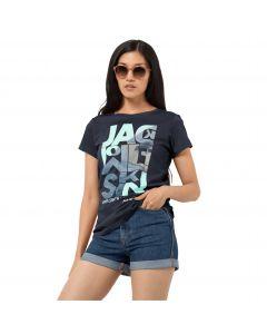 T-shirt damski NAVIGATION T W midnight blue