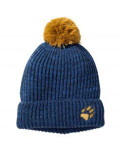 Czapka z pomponem dziecięca SNOW BALL CAP KIDS night blue
