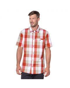 Koszulka FAIRFORD SHIRT MEN volcano red checks