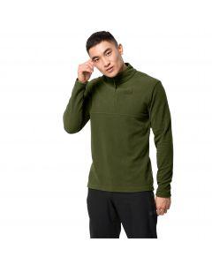 Męska bluza polarowa ARCO MEN Cedar green stripes