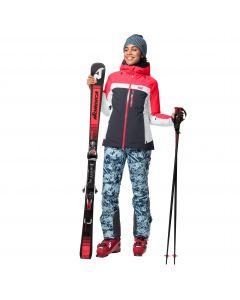 Kurtka narciarska damska GREAT SNOW JACKET W ebony