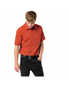 Koszula męska HOT SPRINGS SHIRT M saffron orange checks