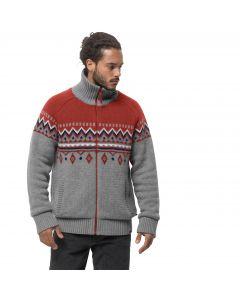 Kurtka polarowa - sweter NORTHWIND JACKET MEN mexican pepper