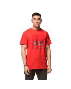 T-shirt męski 365 HIDEAWAY T M fiery red