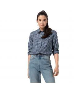 Koszula damska RIVER TOWN SHIRT W bluewash checks