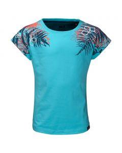 Koszulka ORCHID T GIRLS lake blue