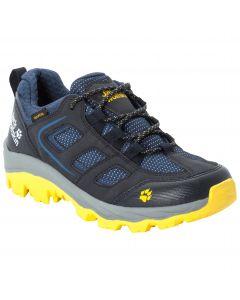 Buty turystyczne dziecięce VOJO TEXAPORE LOW K dark blue / yellow