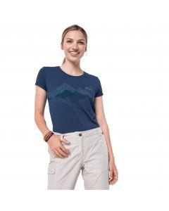 T-shirt damski CROSSTRAIL GRAPHIC T W dark indigo