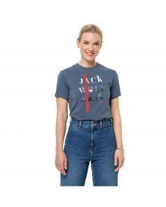 Koszulka damska MOUNTAIN T W frost blue