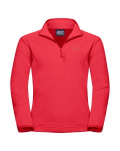 Bluza polarowa dziecięca GECKO KIDS Tulip Red