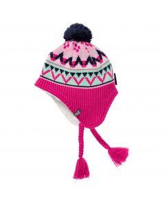 Czapka zimowa dziecięca STORMLOCK HIMALAYA CAP KIDS pink peony