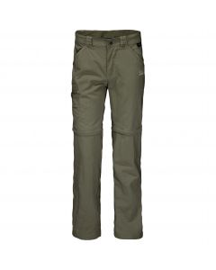 Spodnie dziecięce SAFARI ZIP OFF PANTS K woodland green