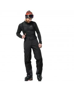 Spodnie EXOLIGHT SLOPE PANTS MEN black