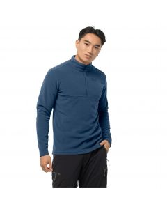 Męska bluza polarowa ARCO MEN indigo blue stripes