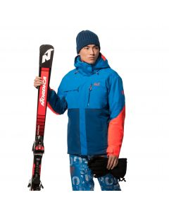Kurtka narciarska męska GREAT SNOW JACKET M blue pacific