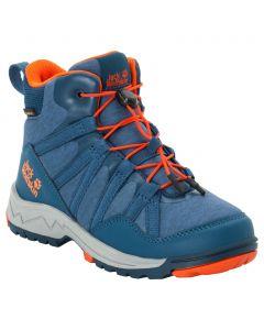Buty trekkingowe dla dzieci THUNDERBOLT TEXAPORE MID K blue / orange