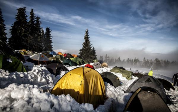 Wintercamp 2019 - zobacz zdjęcia i poczuj klimat zimowego outdooru